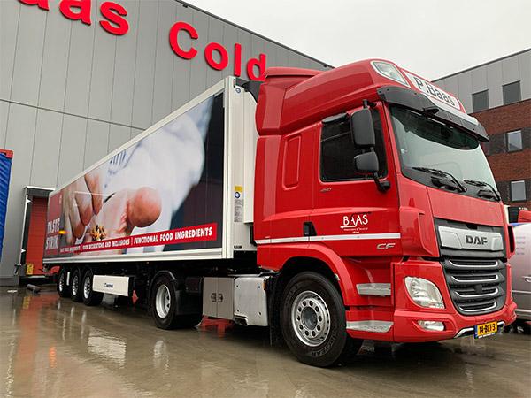 Truckwrapping Baas Coldstore